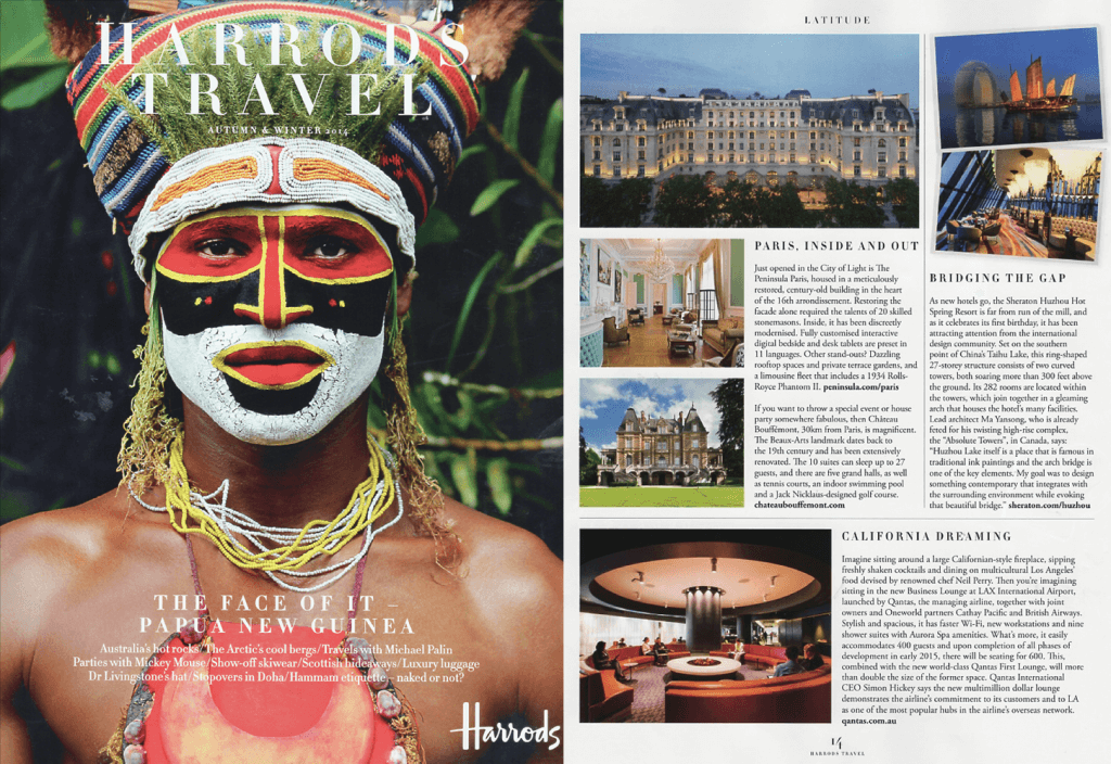 Harrods Travel Magazine Autumn 2014