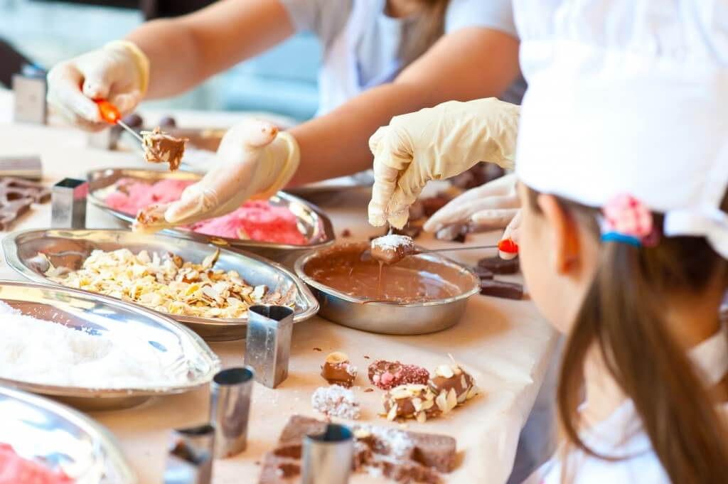ateliers chocolat Pâques