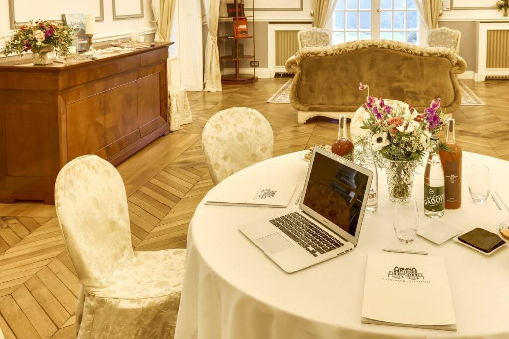 Why Château Bouffémont is perfect for conferences and business meetings