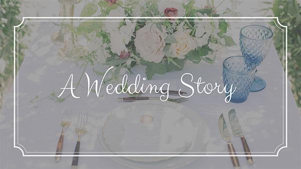 A Wedding Story Offer